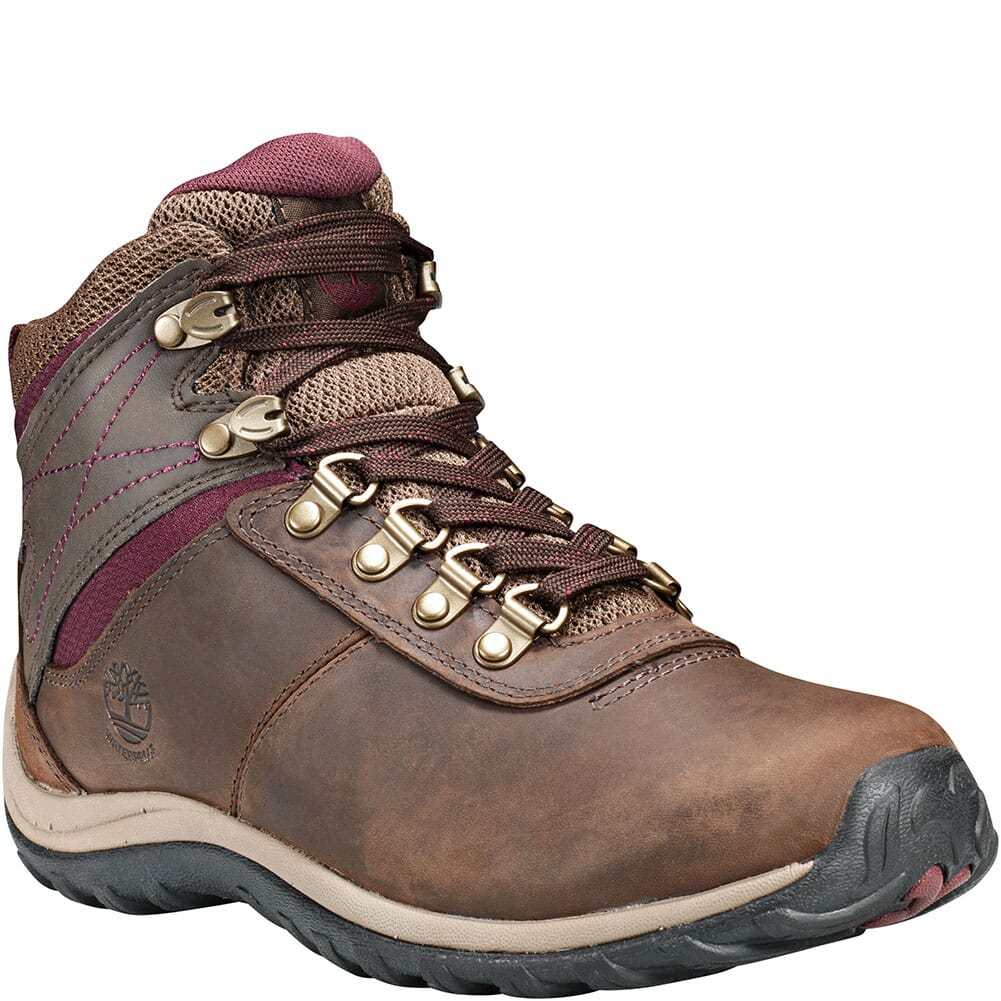 Image for Timberland Women's Norwood Mid WP Hiking Boots - Brown from bootbay