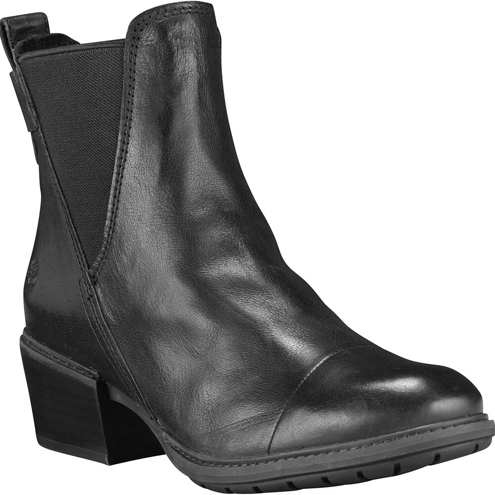 Image for Timberland Women's Sutherlin Bay Stretch Chelsea Boots - Jet Black from bootbay