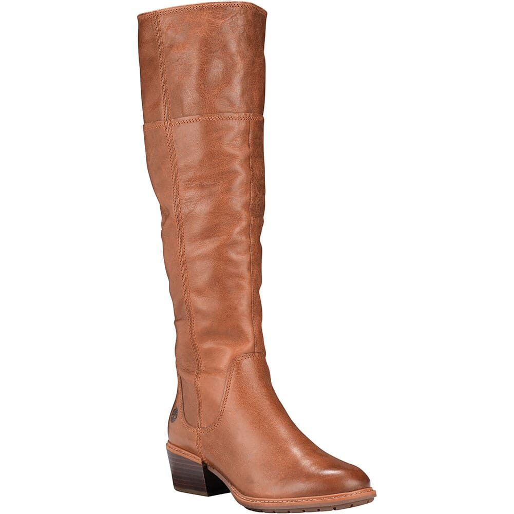 Image for Timberland Women's Sutherlin Bay Slouch Tall Boots - Brown from bootbay