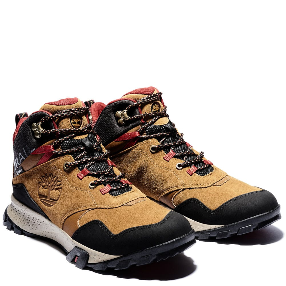 Image for Timberland Men's Garrison Trail WP Mid Hiking Boots - Brown from bootbay