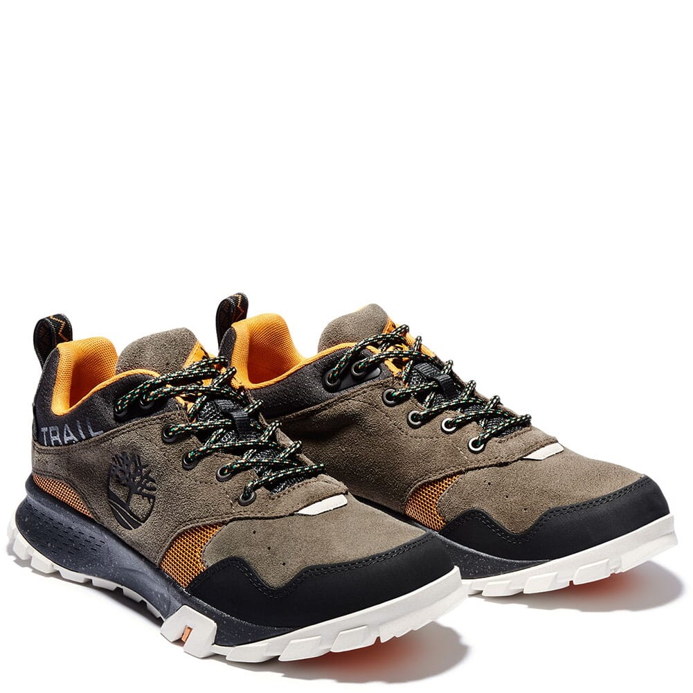 Image for Timberland Men's Garrison Trail WP Hiking Shoes - Canteen from bootbay