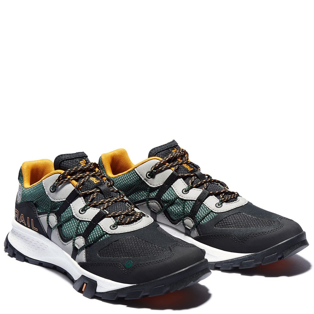 Image for Timberland Men's Garrison Trail Hiking Shoes - Dark Green/Black from bootbay