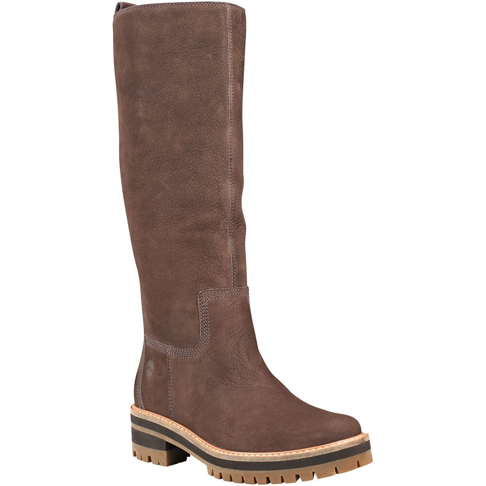 Image for Timberland Women's Courmayeur Valley Tall Boots - Dark Brown from bootbay
