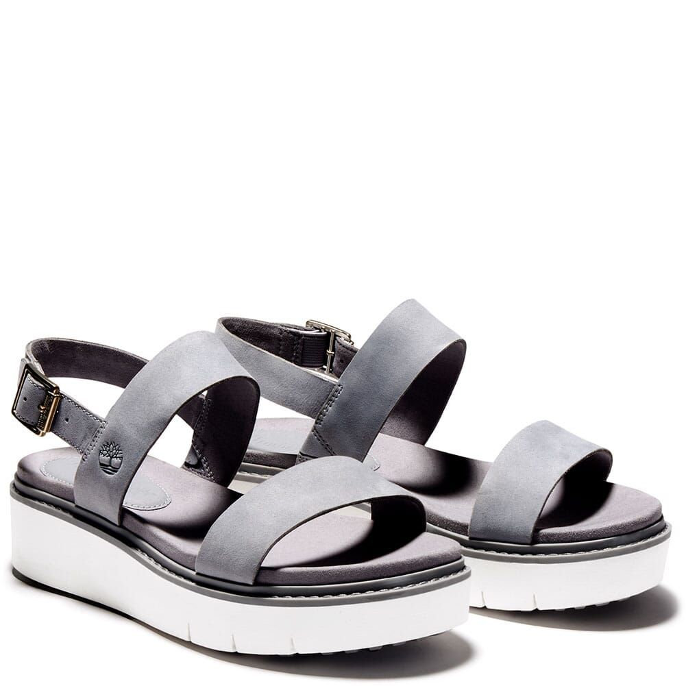 Image for Timberland Women's Safari Dawn 2 Band Sandals - Grey from bootbay