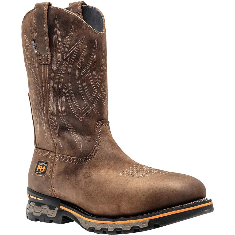 Image for Timberland Pro Men's AG BOSS Safety Boots - Distressed Brown from bootbay