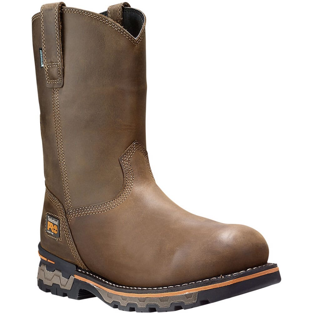 Image for Timberland Pro Men's AG Boss AT Safety Boots - Brown from bootbay