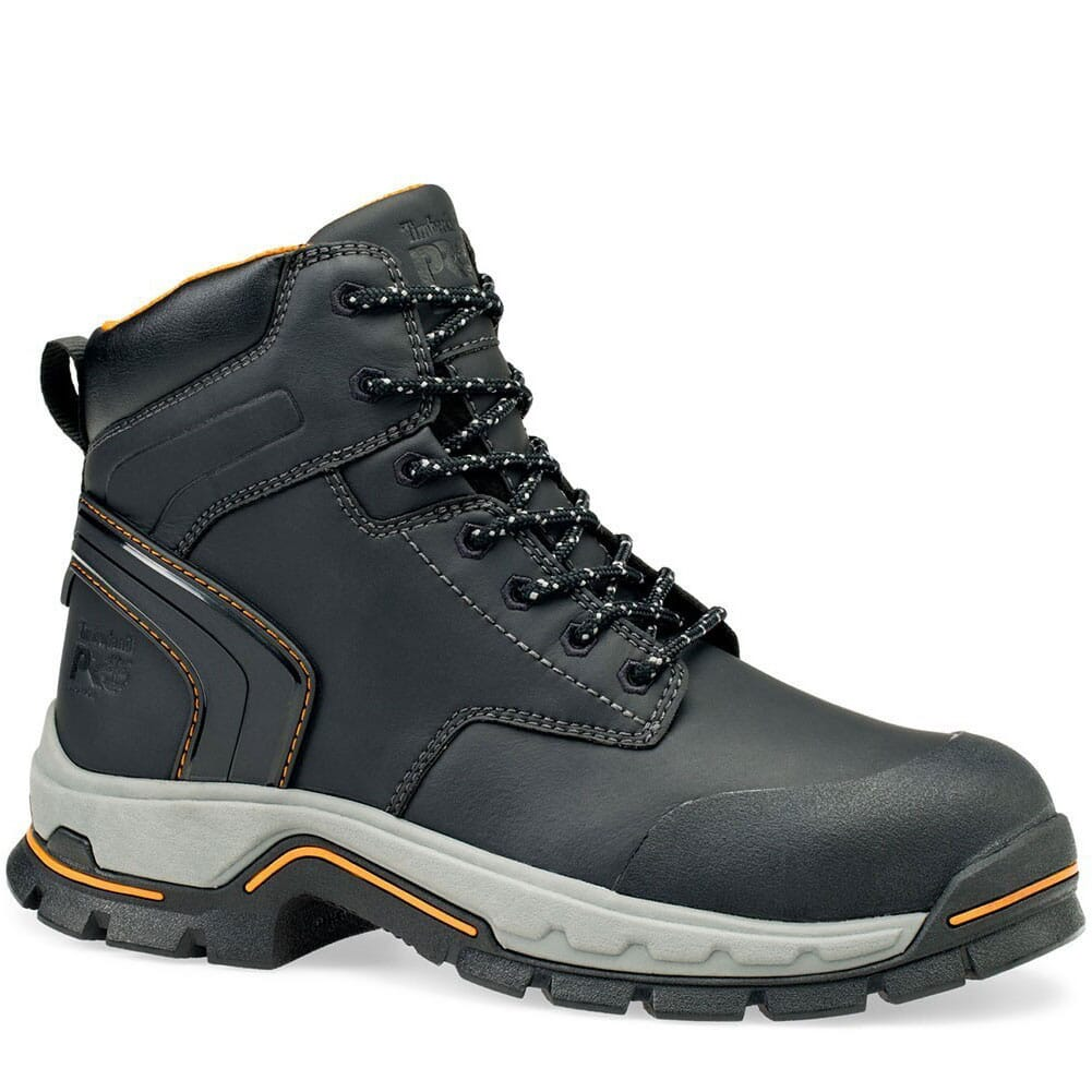 Image for Timberland PRO Men's Stockdale GripMax Safety Boots - Black from bootbay