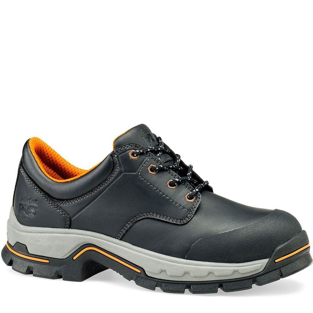 Image for Timberland PRO Men's Stockdale GripMax Safety Oxfords - Black from bootbay