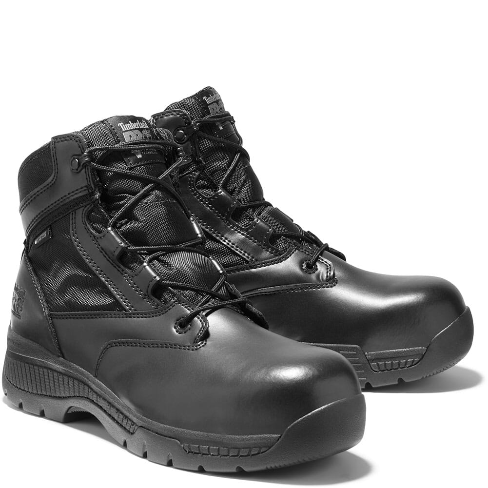 Image for Timberland Pro Men's Valor Duty BB Safety Boots - Black from bootbay