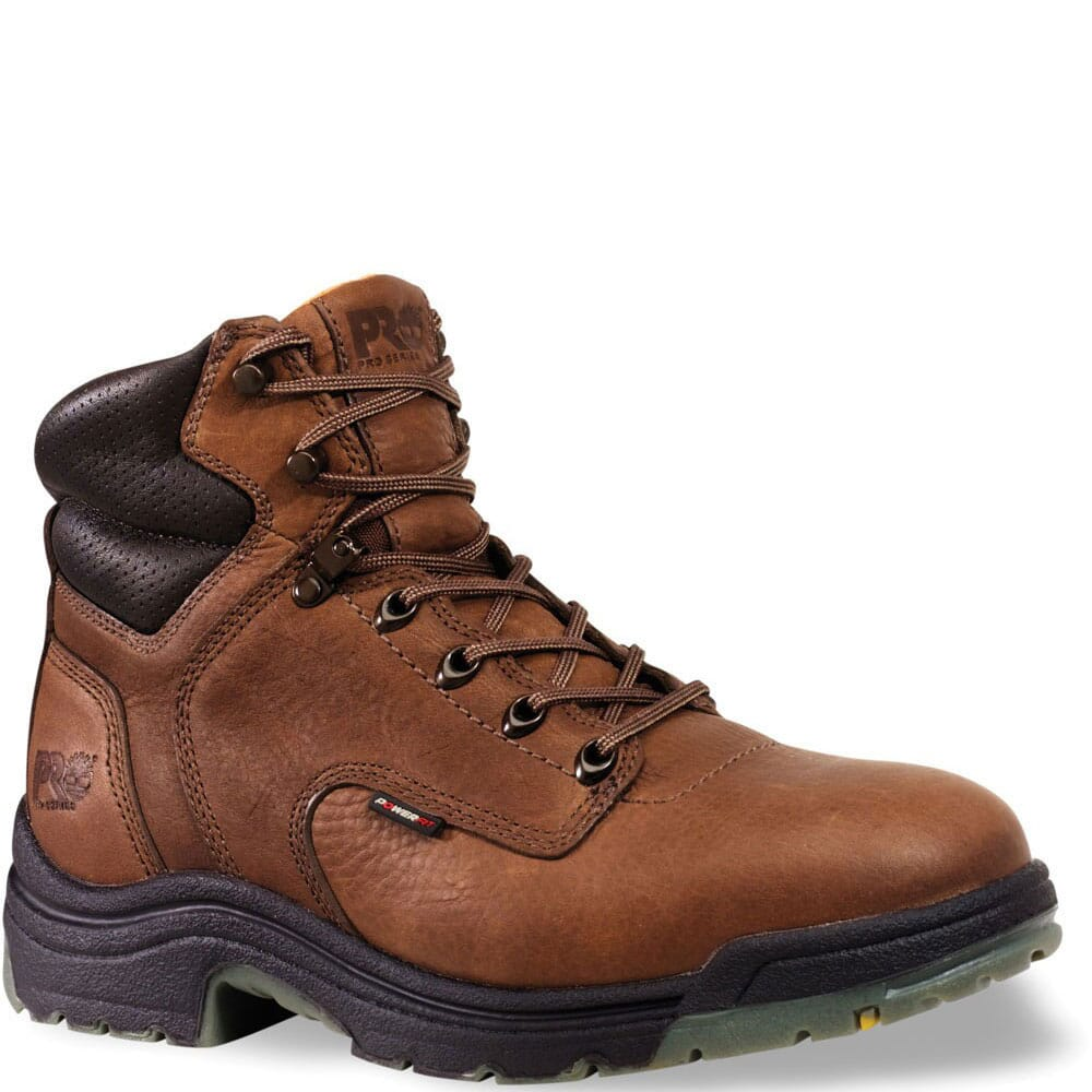 Image for Timberland PRO Men's Titan Work Boots - Coffee from bootbay