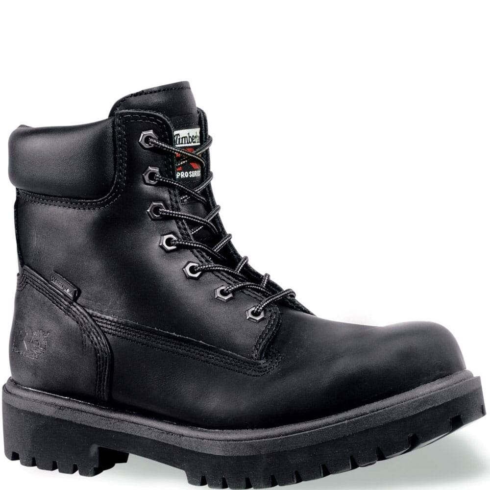 Image for Timberland PRO Men's WP BLK Safety Boots - Black from bootbay