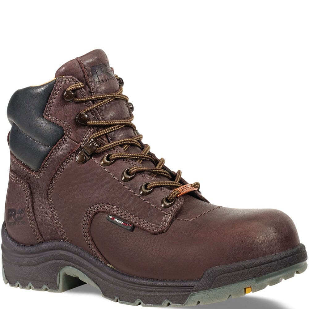 Image for Timberland PRO Men's TiTAN Safety Boots - Brown from bootbay