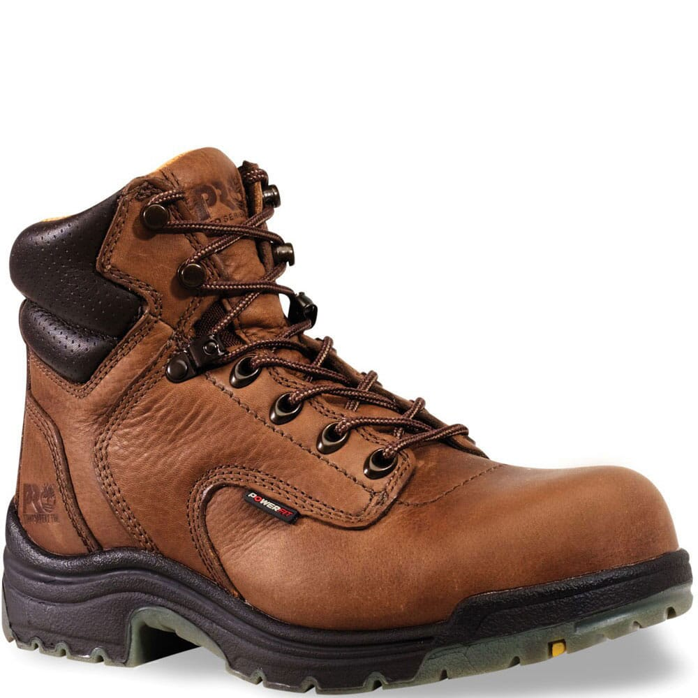 Image for Timberland PRO Women's Titan Safety Boots - Brown from bootbay