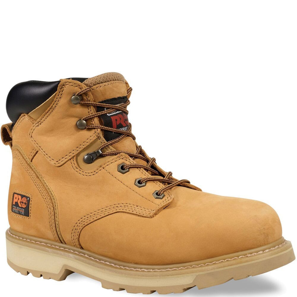 Image for Timberland PRO Men's Pit Boss Work Boots - Wheat from bootbay