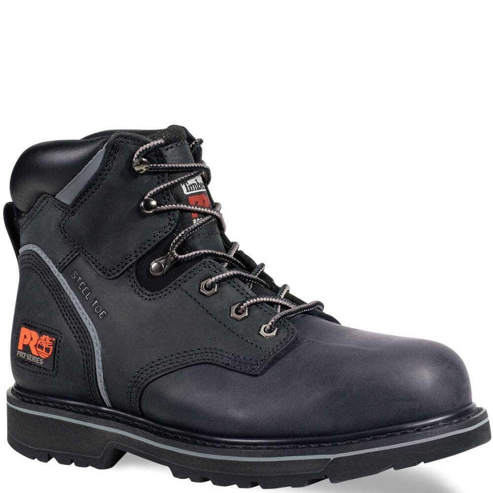 Image for Timberland PRO Men's Pit Boss Safety Boots - Black from bootbay