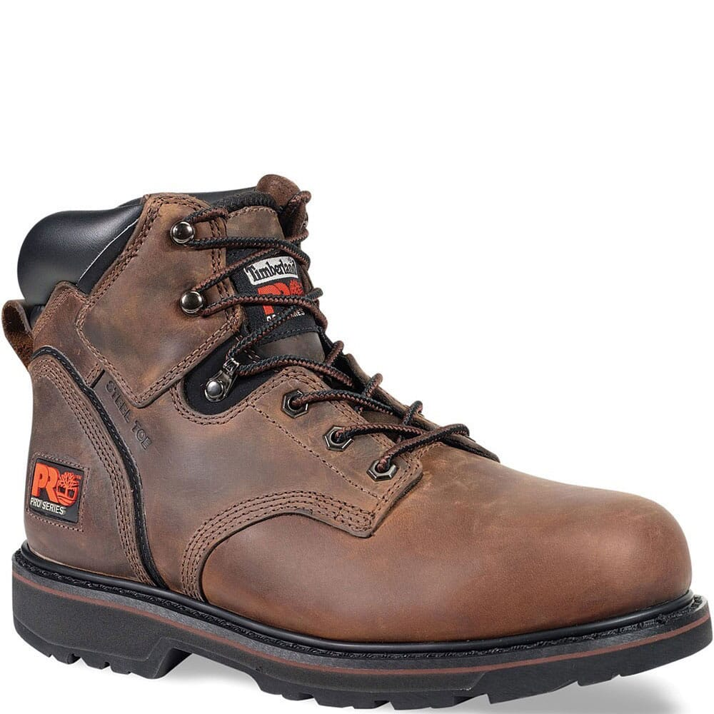 Image for Timberland PRO Men's Pit Boss Work Boots - Brown from bootbay