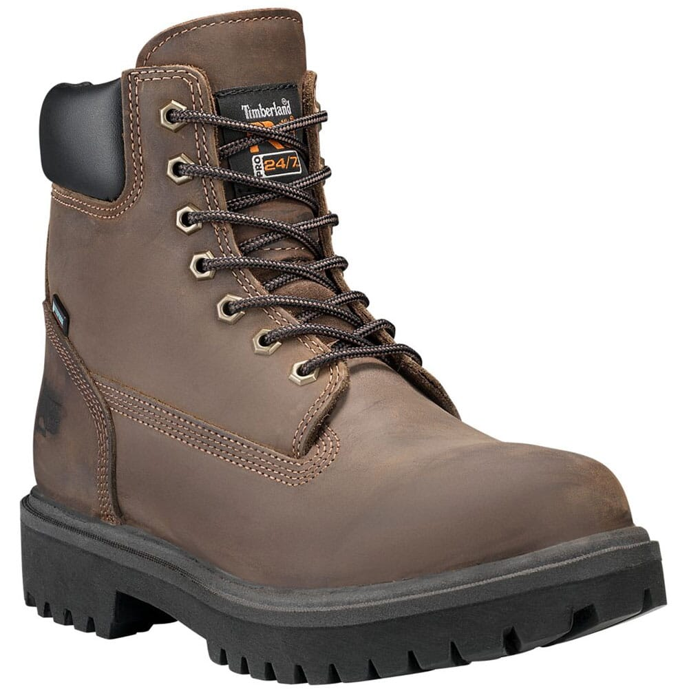 Image for Timberland PRO Men's Direct Attach Work Boots - Brown from bootbay