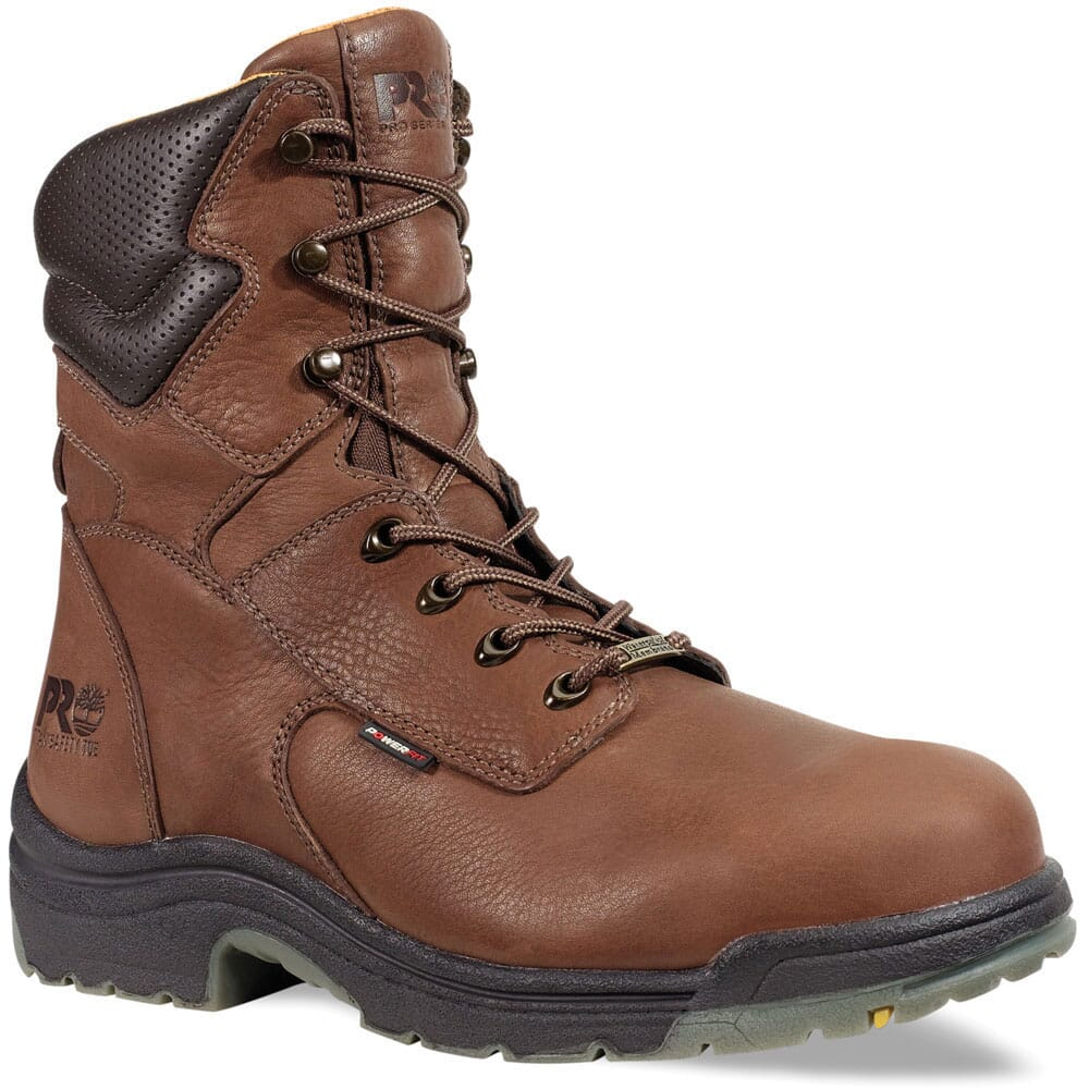 Image for Timberland PRO Men's TiTAN 8in Safety Boots - Brown from bootbay