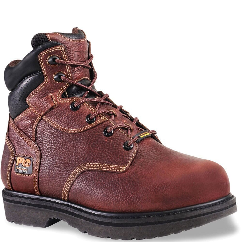 Image for Timberland PRO Men's EH SR Safety Boots - Burgundy from bootbay