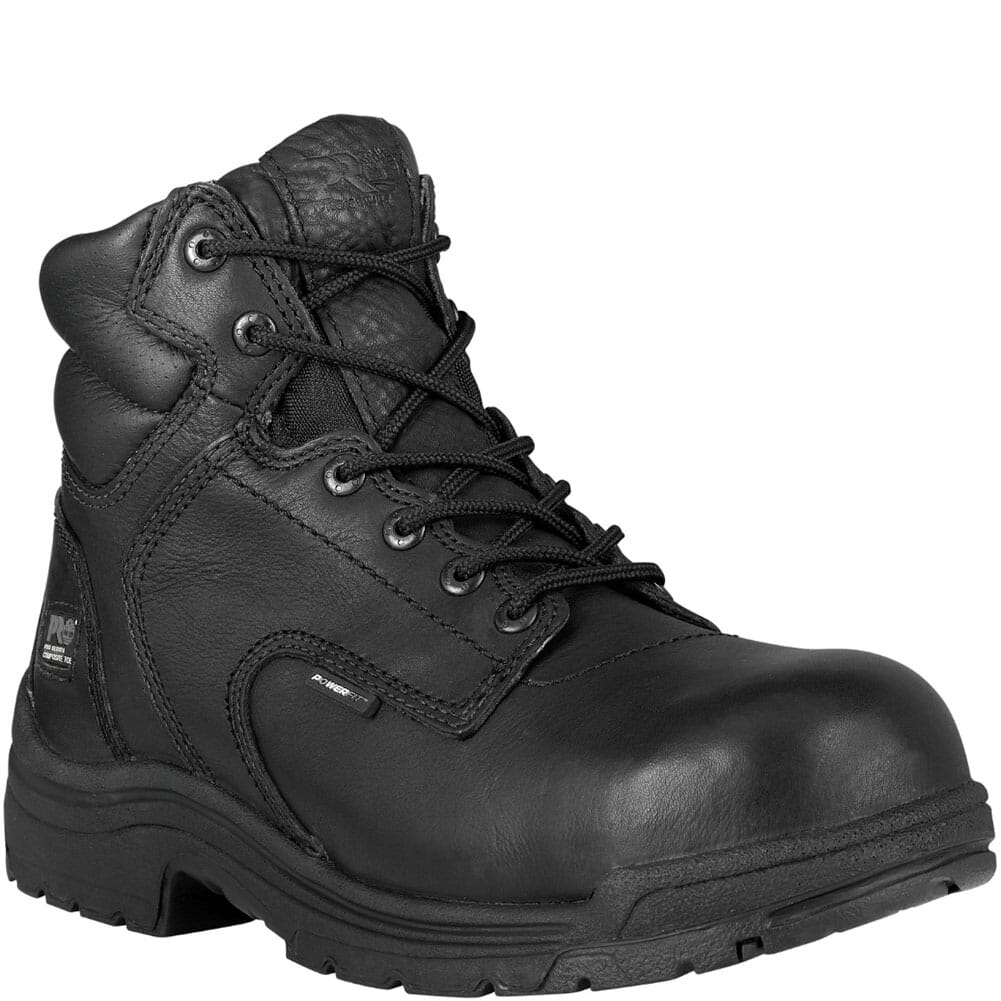 Image for Timberland PRO Men's TiTAN BLK Safety Boots - Black from bootbay