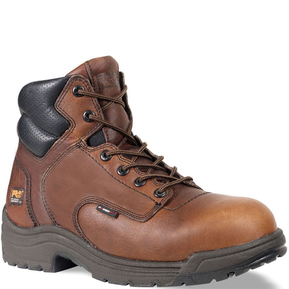Image for Timberland PRO Men's TiTAN BRN Safety Boots - Brown from bootbay