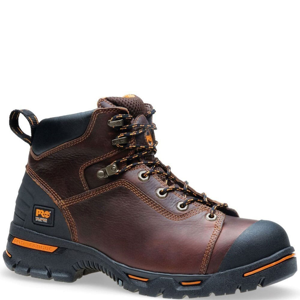 Image for Timberland PRO Men's Endurance Safety Boots - Dark Brown from bootbay