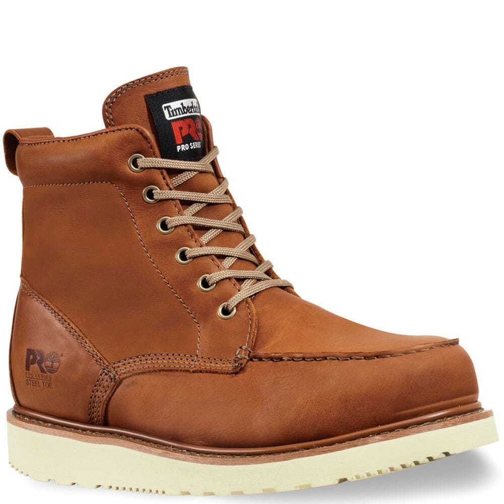 Image for Timberland PRO Men's Wedge Work Boots - Rust from bootbay