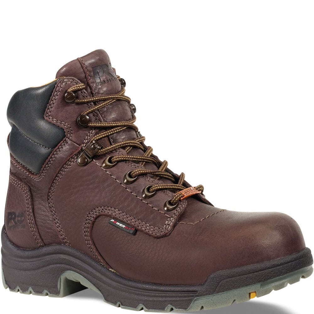 Image for Timberland PRO Women's TiTAN WP Safety Boots - Brown from elliottsboots