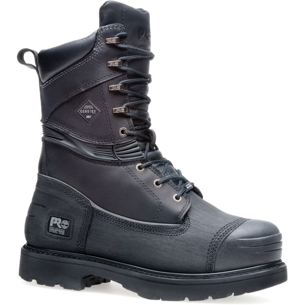 Image for Timberland PRO Men's Gravel Pit Safety Boots - Black from bootbay