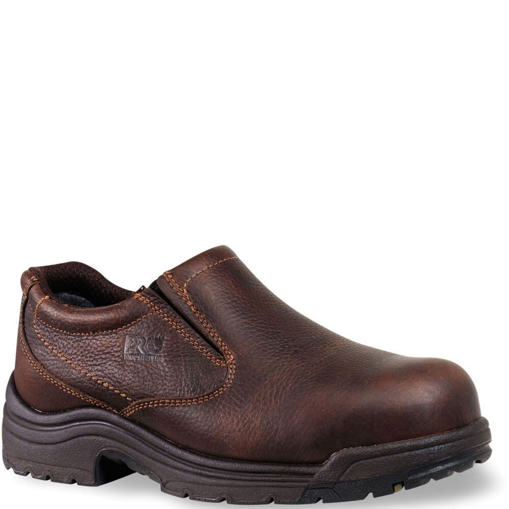 Image for Timberland PRO Men's TiTAN Safety Oxford - Brown from bootbay