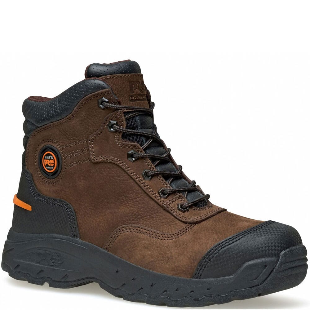 Image for Timberland PRO Men's Endurance EH Safety Boots - Brown from bootbay