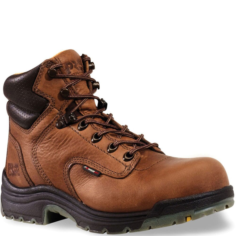 Image for Timberland PRO Women's TiTAN Work Boots - Coffee from bootbay