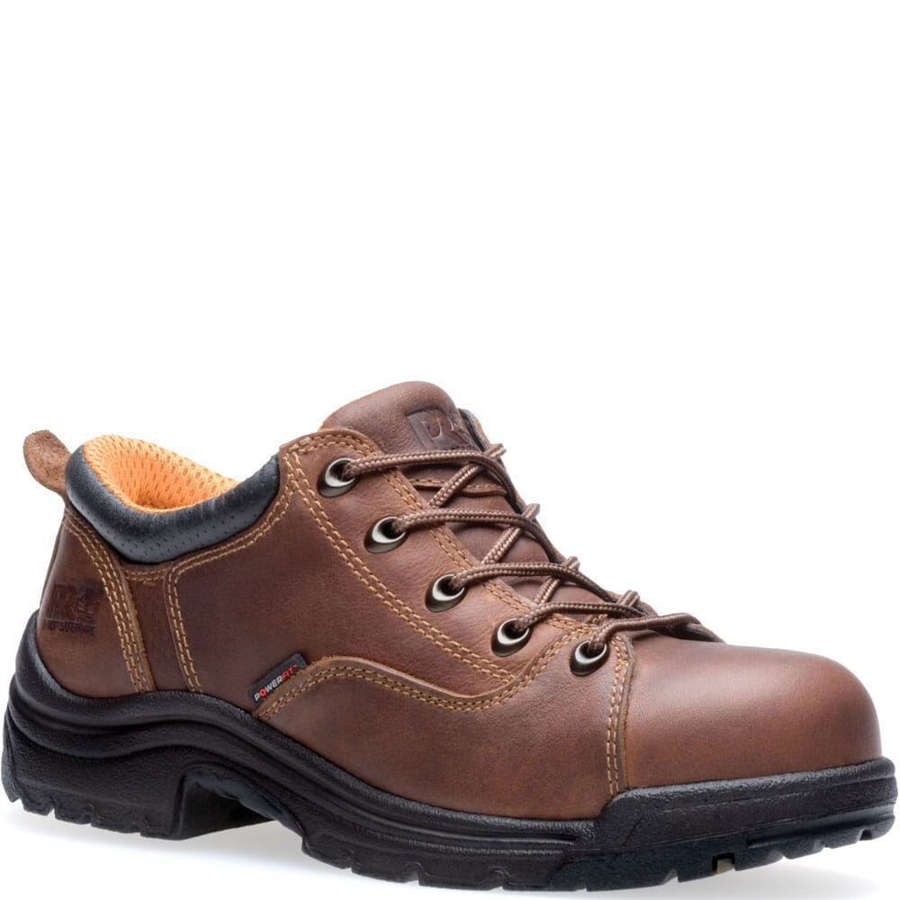 Image for Timberland PRO Women's Titan Safety Shoes - Brown from bootbay