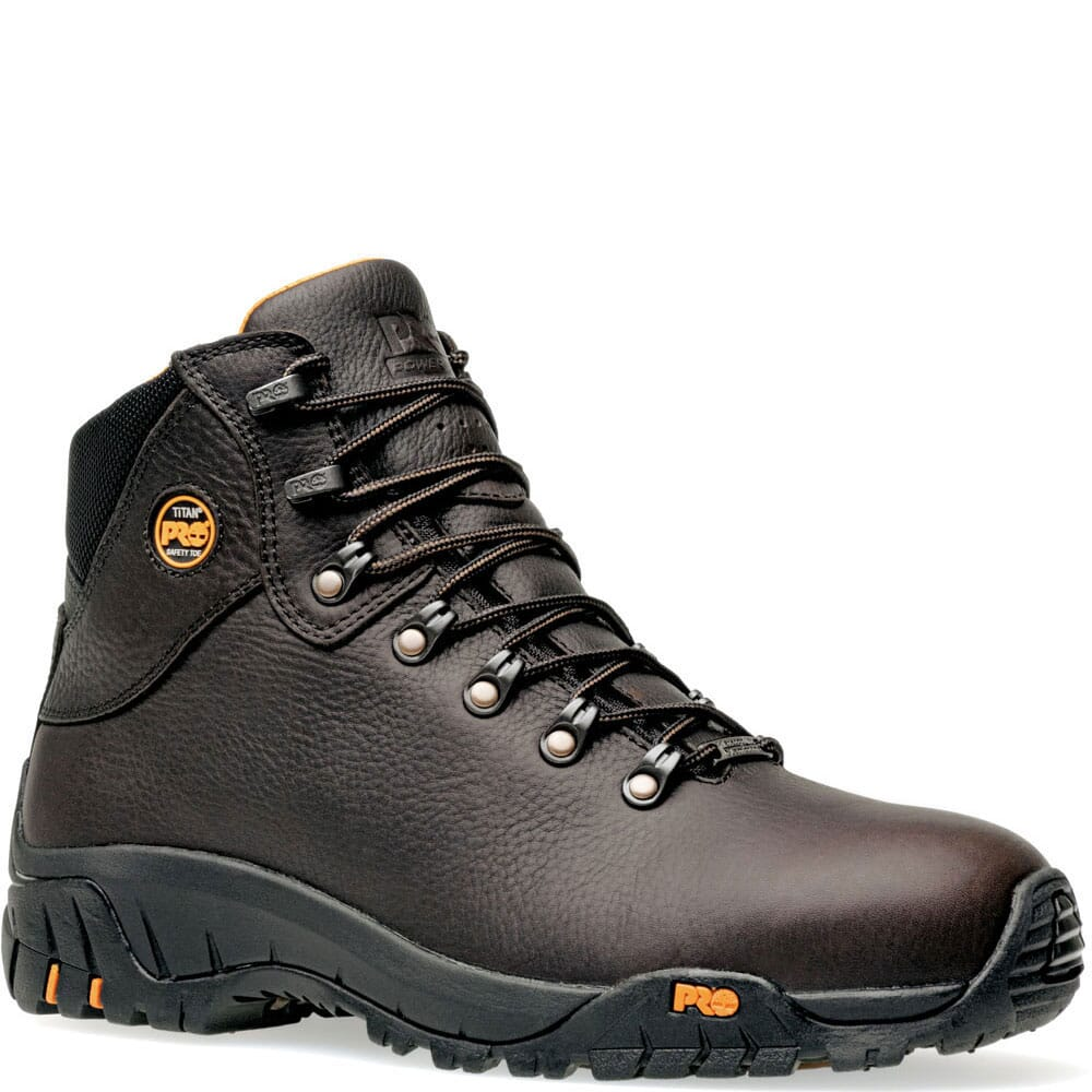 Image for Timberland PRO Men's TiTAN Trekker Safety Boots - Brown from bootbay