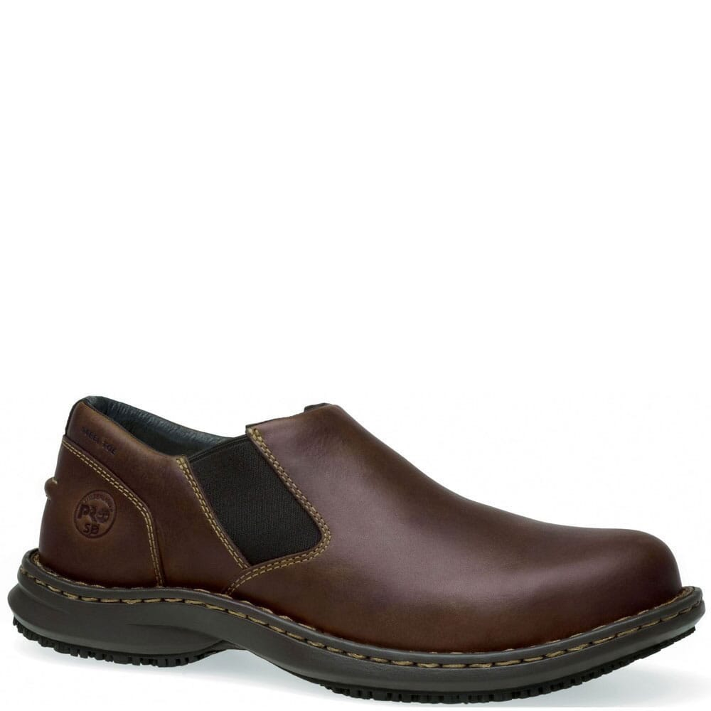 Image for Timberland PRO Men's Gladstone Safety Slip On - Brown from bootbay