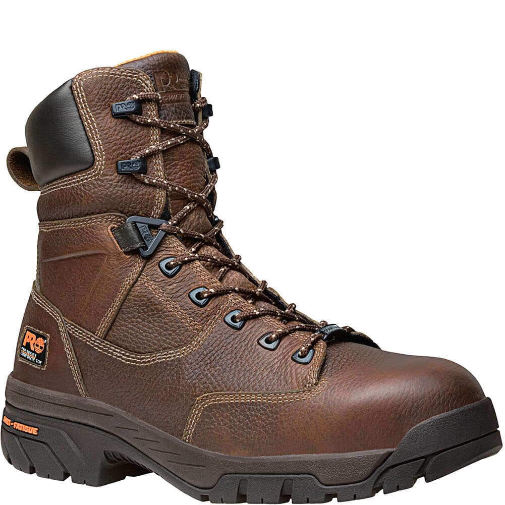 Image for Timberland PRO Men's Helix 8in WP Safety Boots - Brown from bootbay