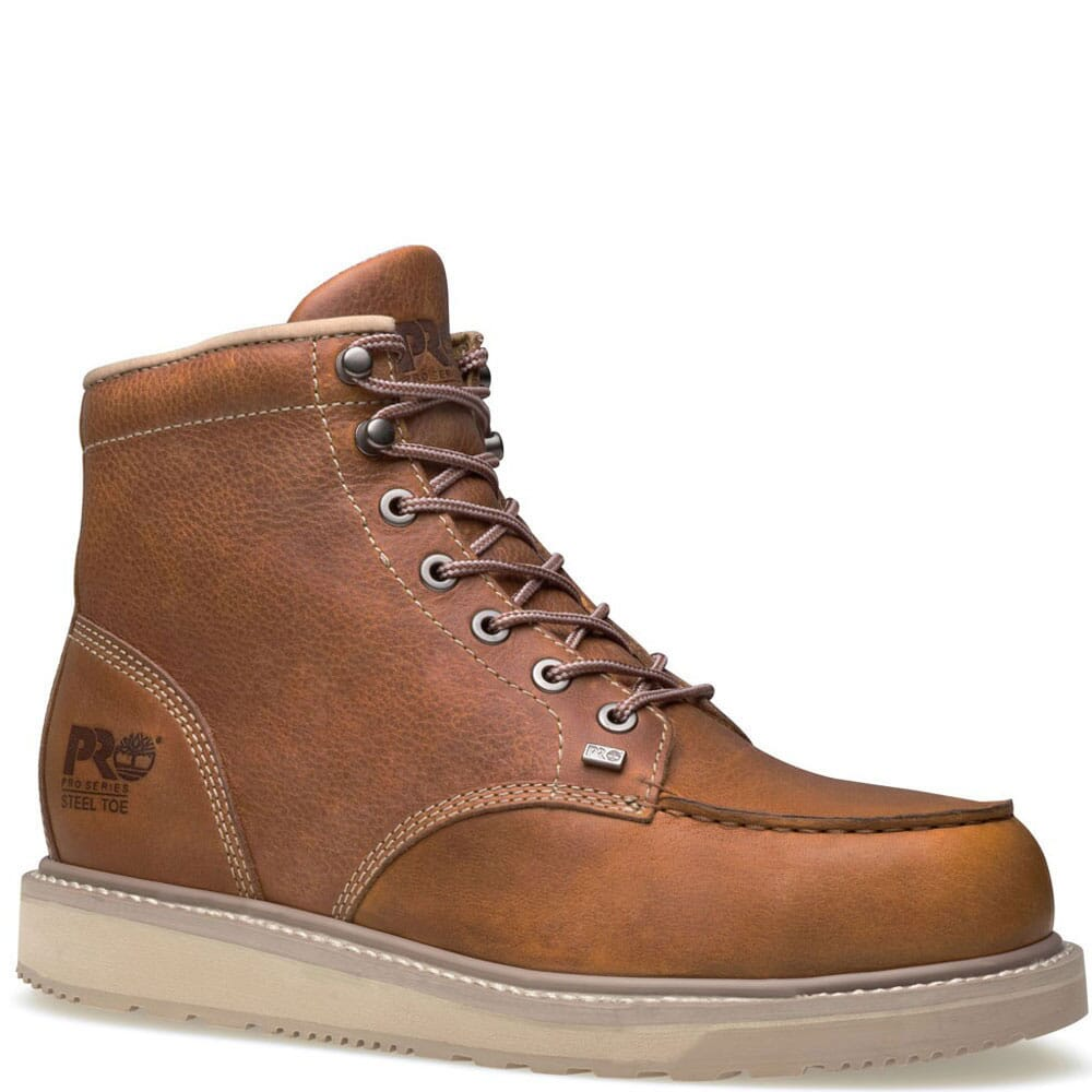 Image for Timberland PRO Men's Barstow Safety Boots - Rust from bootbay