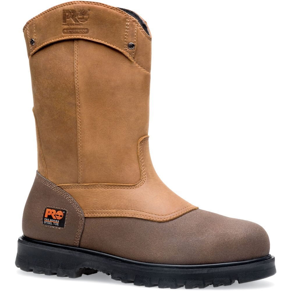 Image for Timberland PRO Men's Rigmaster Wellington Safety Boots - Brown from bootbay
