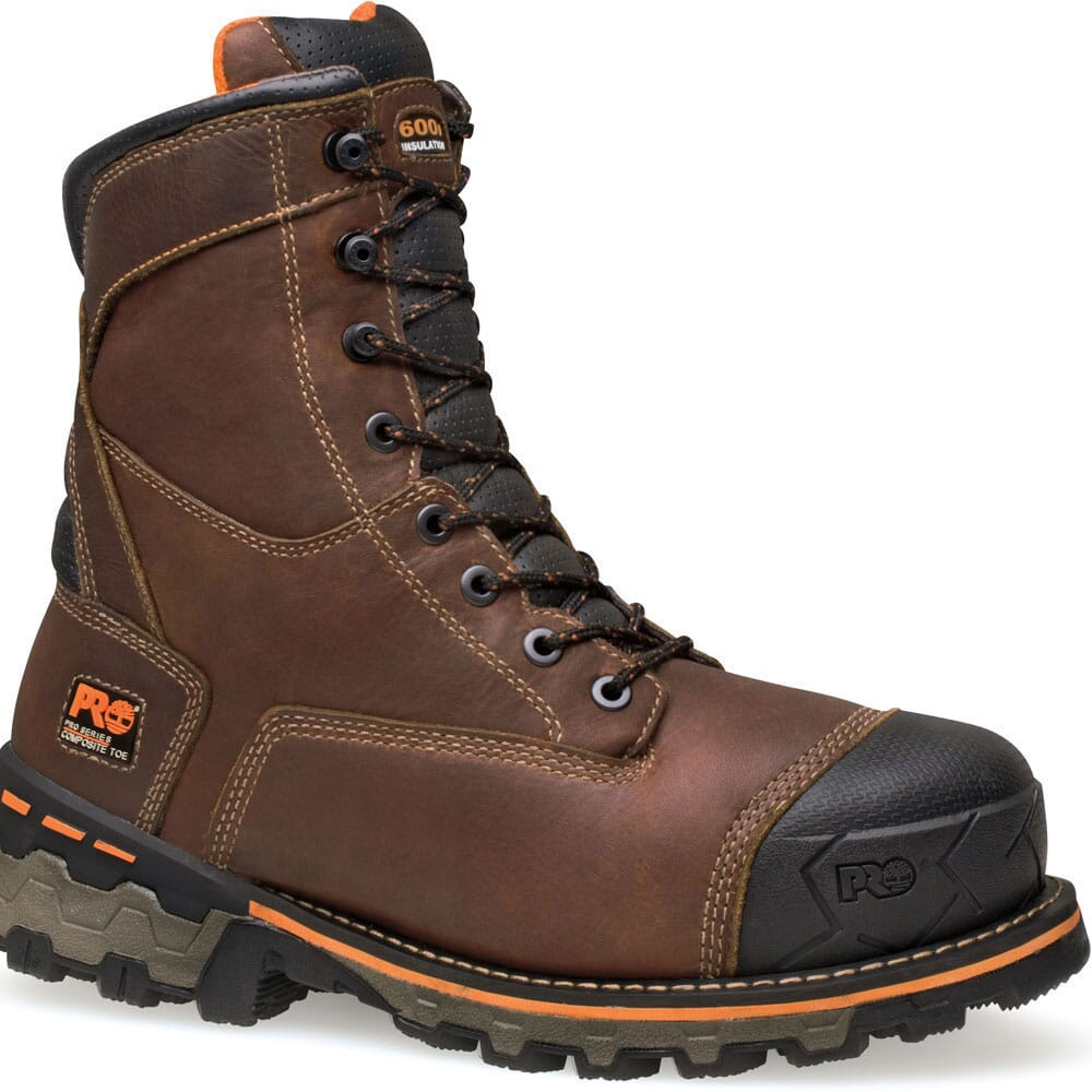 Image for Timberland PRO Men's Boondock WP Safety Boots - Brown from bootbay