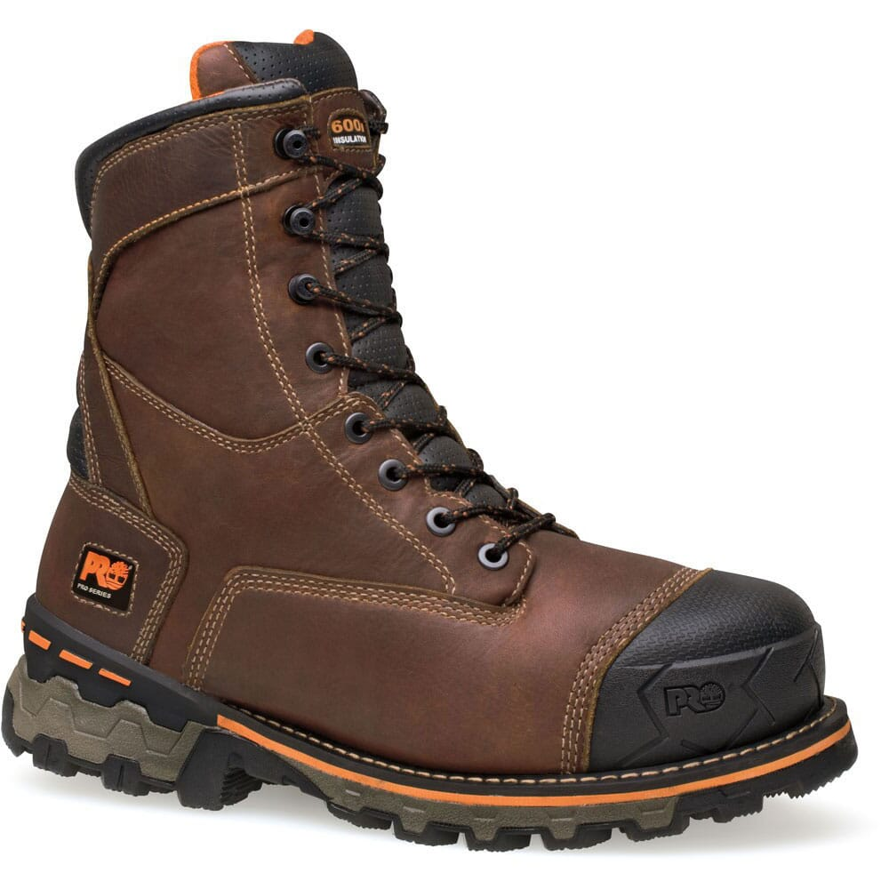 Image for Timberland PRO Men's Boondock WP Work Boots - Brown from bootbay