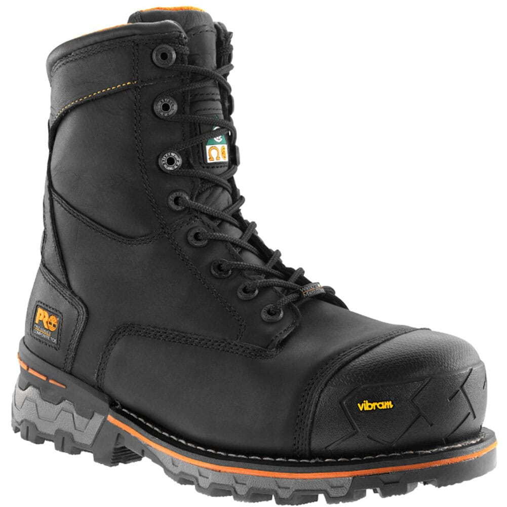 Image for Timberland PRO Men's Boondock WP Safety Boots - Black from bootbay