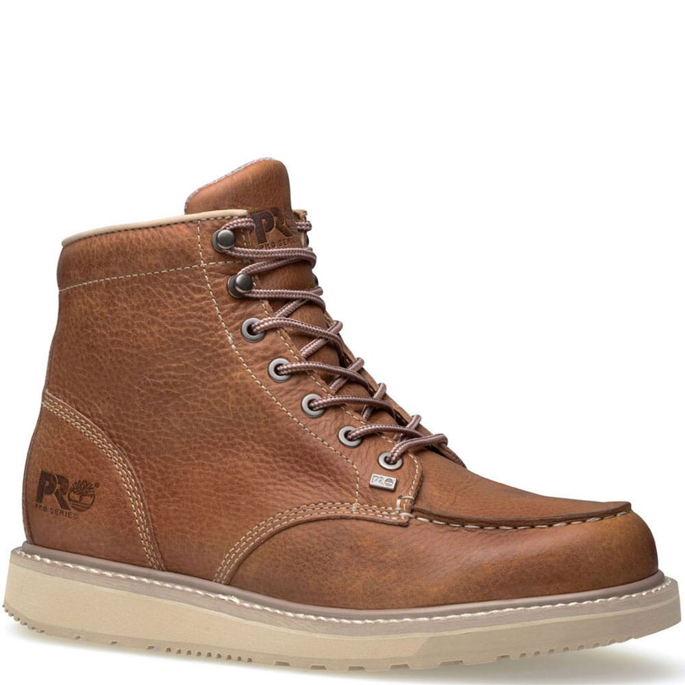 Image for Timberland PRO Men's Barstow Work Boots - Brown from bootbay