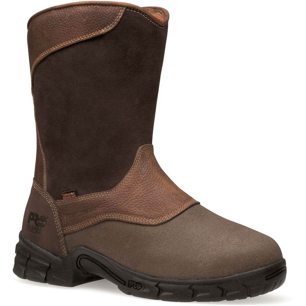 Image for Timberland PRO Men's Excave WP Safety Boots - Brown from bootbay