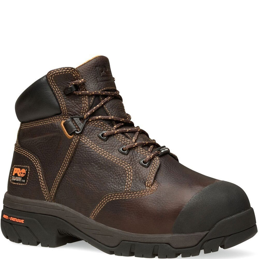 Image for Timberland PRO Men's Helix Met Safety Boots - Brown from bootbay