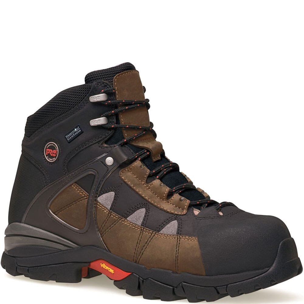 Image for Timberland PRO Men's Hyperion Safety Boots - Brown from elliottsboots