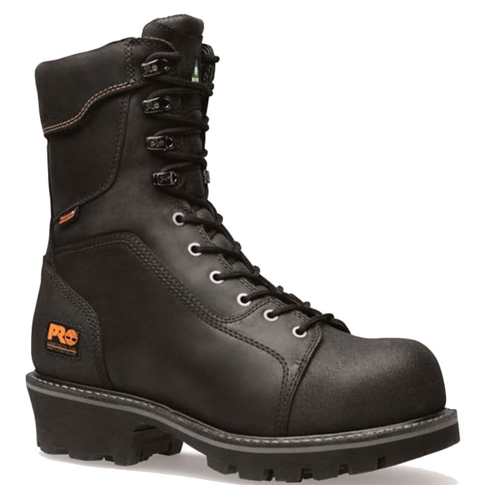 Image for Timberland PRO Men's Rip Saw CT Safety Loggers - Black from bootbay