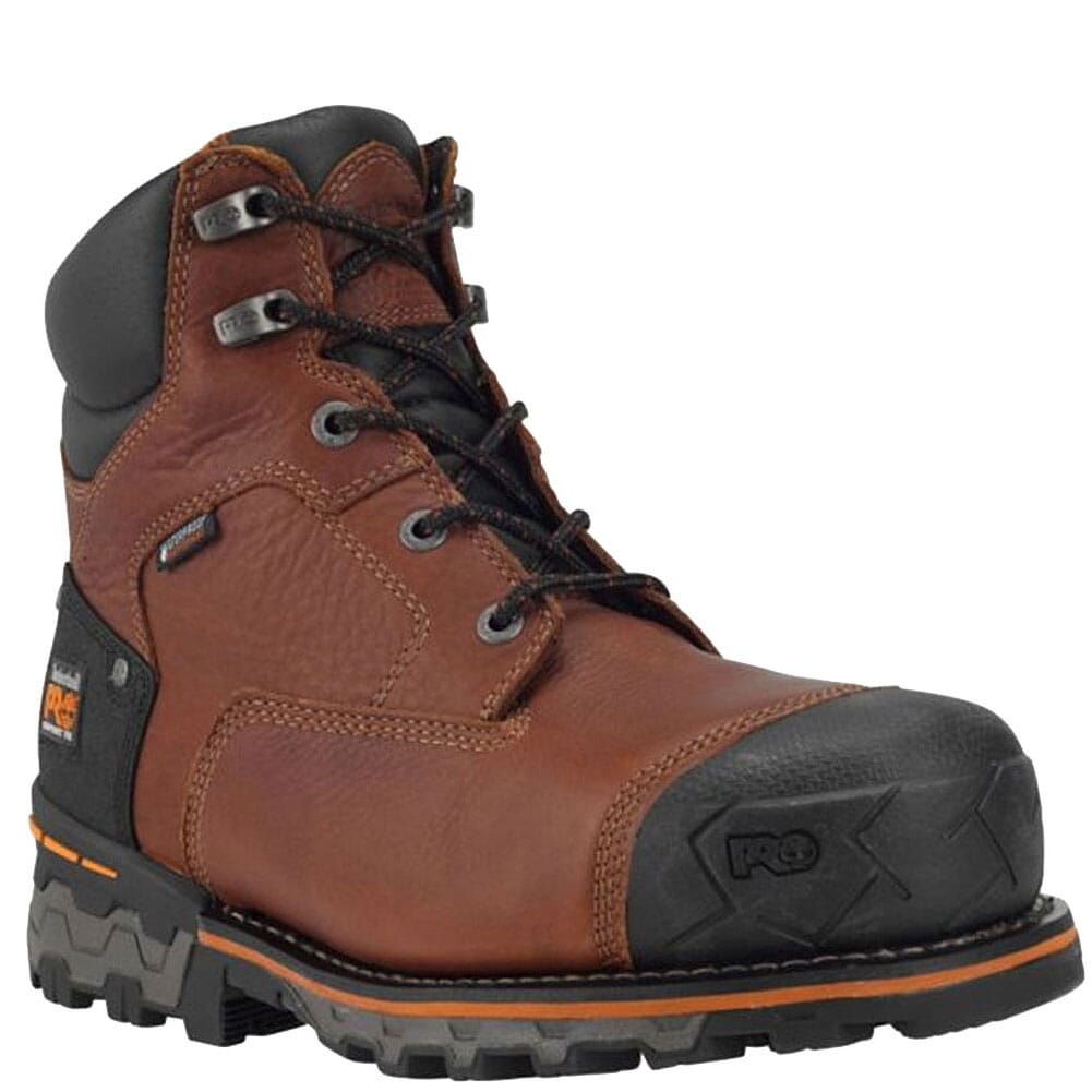 Image for Timberland Pro Men's Boondock WP 6in Safety Boots - Brown from bootbay