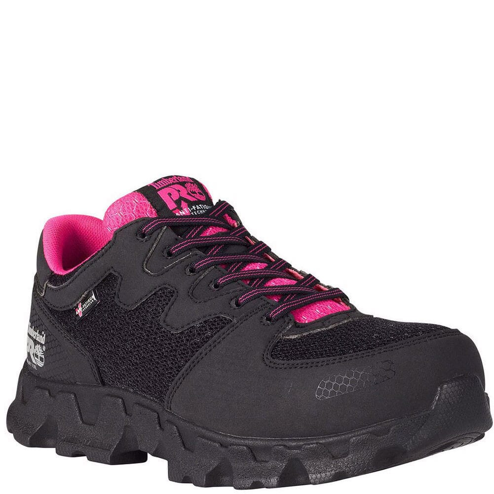 Image for Timberland Pro Women's Powertrain SD Safety Shoes - Black from bootbay