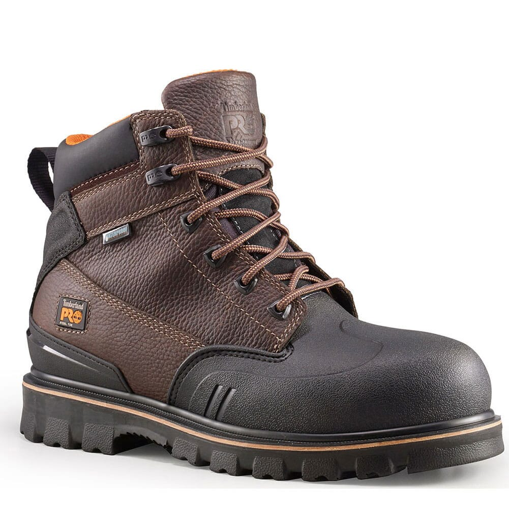 Image for Timberland PRO Men's Rigmaster XT WTP Safety Boots - Brown from bootbay