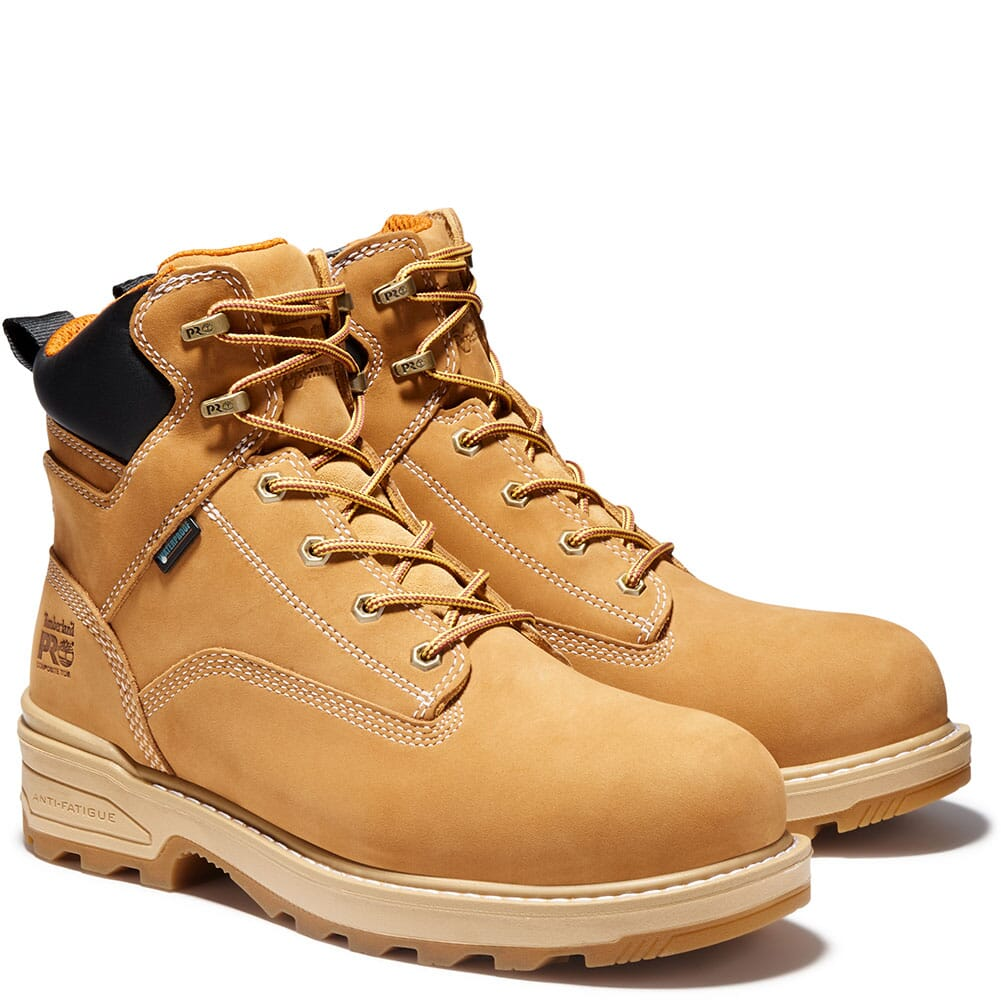 Image for Timberland PRO Men's Resistor WP INS Safety Boots - Wheat from bootbay
